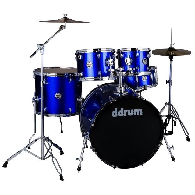 D2- Cobalt Blue - Complete drum set with cymbals