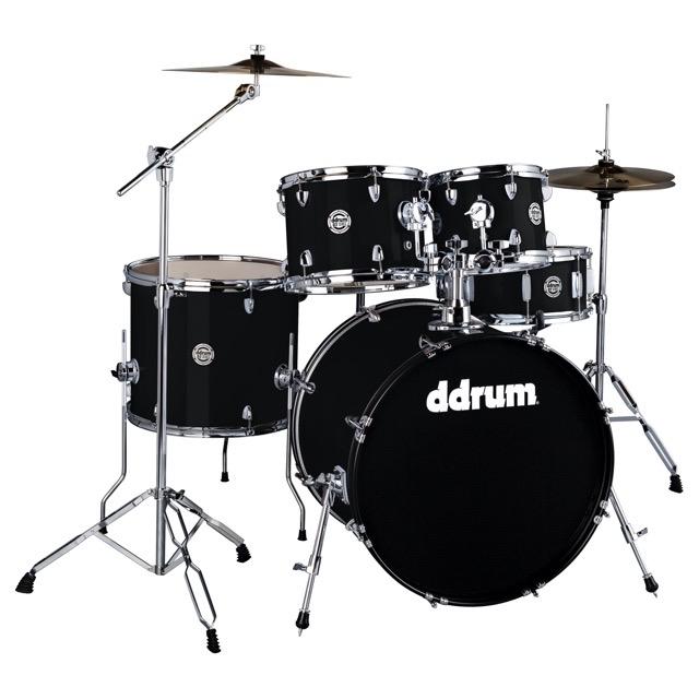 D2 -5pc - Mid. Black - Complete Kit