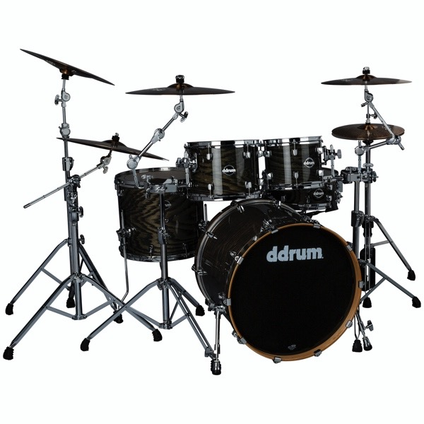 Dominion Birch 5pc Shell Pack with Ash Veneer Transparent Black