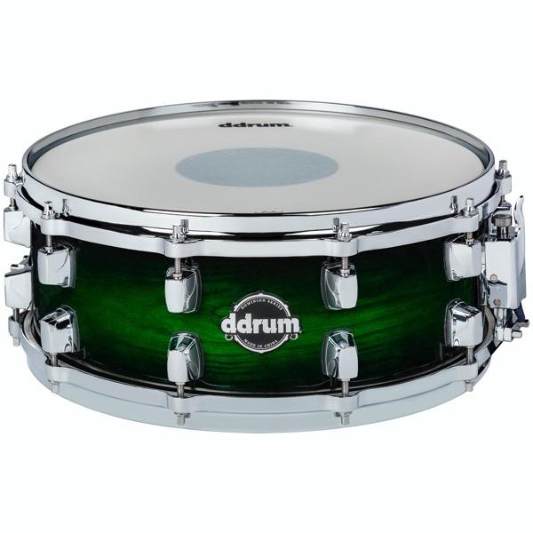 Dominion Series 5.5x14 Green Burst Snare Drum