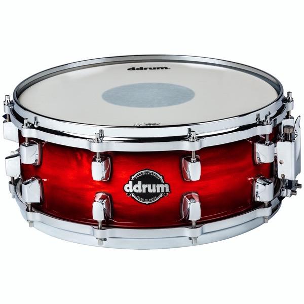 Dominion Series 5.5x14 Red Burst Snare Drum