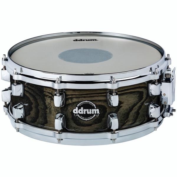 Dominion Series 5.5x14 Transparent Black Snare Drum