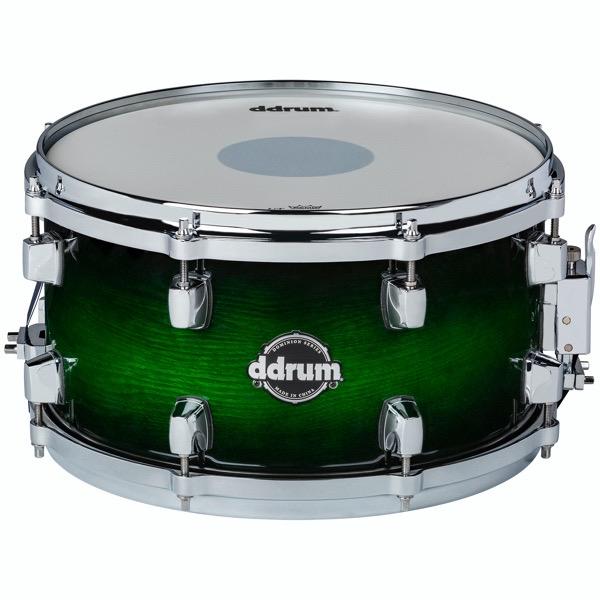 Dominion Series 7x13 Green Burst Snare Drum