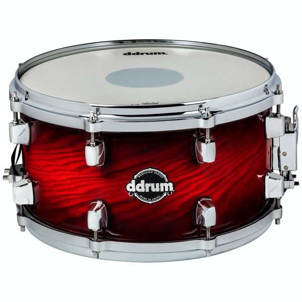 Dominion Series 7x13 Red Burst Snare Drum