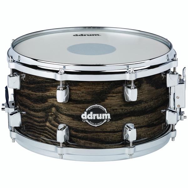 Dominion 7x13 Snare Trans Black
