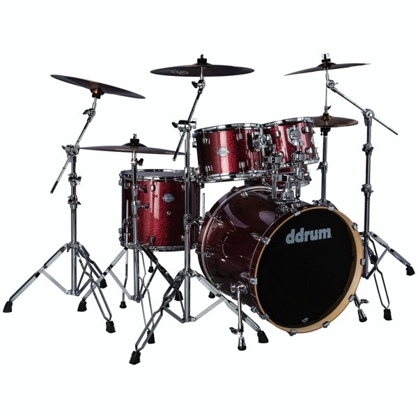 Dominion Birch 5pc Shell Pack Red Sparkle Wrap