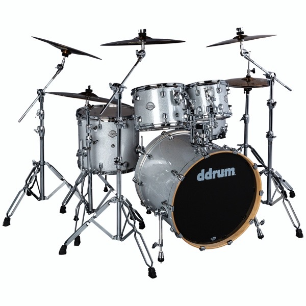 Dominion Birch 5pc Shell Pack Silver Sparkle Wrap
