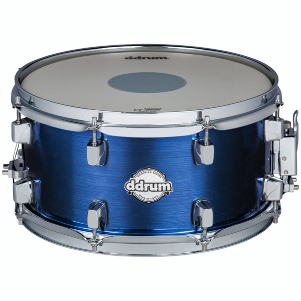 Dominion Series 7x13 Brushed Blue Wrap Snare Drum
