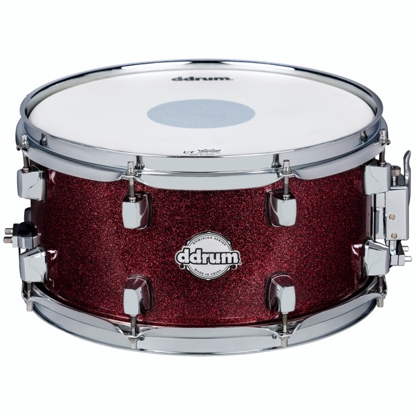 Dominion Series 7x13 Red Sparkle Wrap Snare Drum
