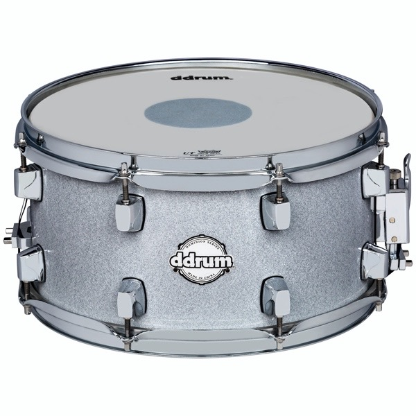 Dominon Birch 7x13 Snare Silver Spkl