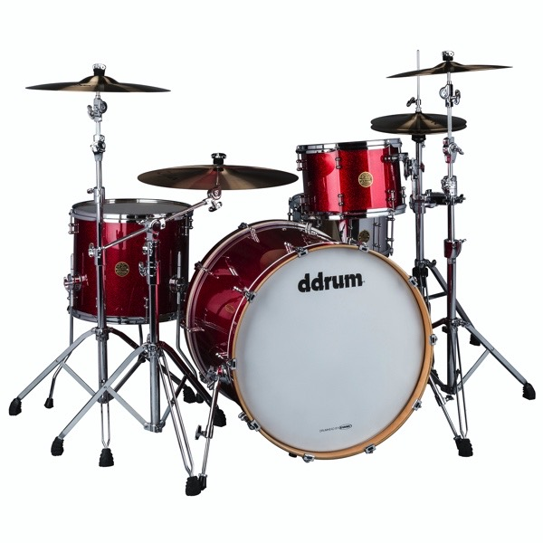 Dios Maple 3pc Red Cherry Sparkle Shell Pack