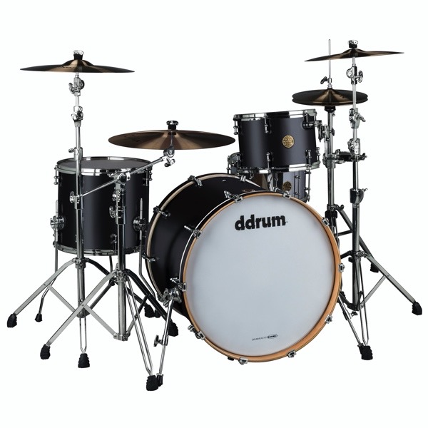 Dios Maple 3pc Satin Black Shell Pack