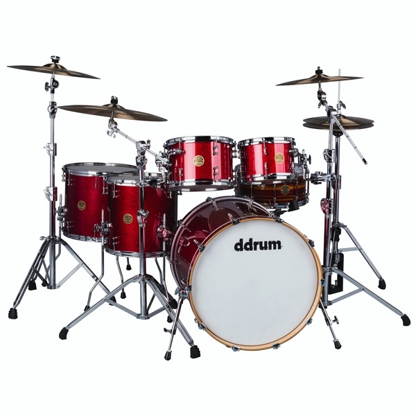 Dios 5pc Red Cherry Spkl Shell Pack