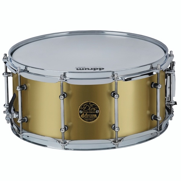 Dios Maple 6.5x14 Snare Satin Gold