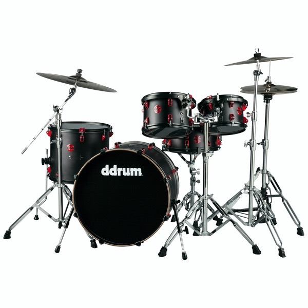 Hybrid - 5pc - Satin Black - Shell Pack