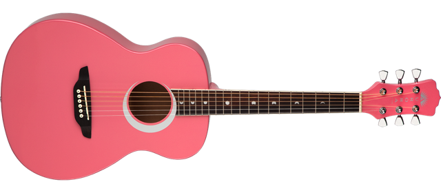 Aurora Borealis 3/4 Acoustic - Pink Pearl