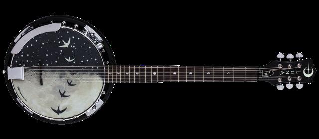 Moonbird 6-String Banjo A/E