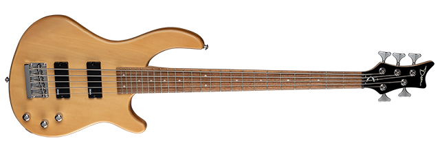 Edge 1 5-String 2 Pickup Vintage Natural