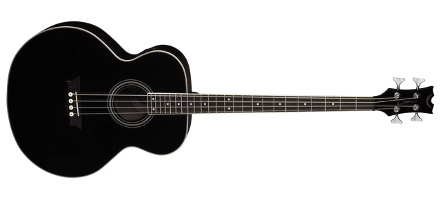 Acoustic/Electric Bass - Classic Black