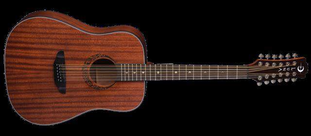Gypsy Dreadnought 12 String Mahogany - Satin Natural