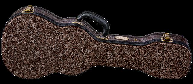 Luna Hard Case Tooled Leather Baritone