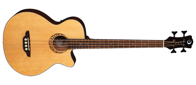 Tribal Acoustic/Electric Bass - Short Scale