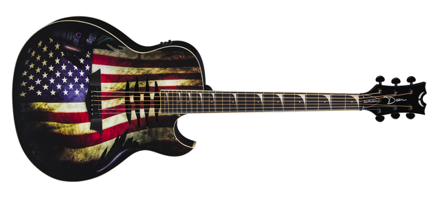 Mako Dave Mustaine A/E USA Flag