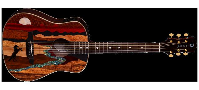 Safari Vista Stallion Travel Guitar A/E