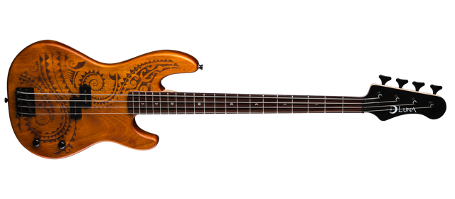 Tattoo Electric Bass - Long Scale