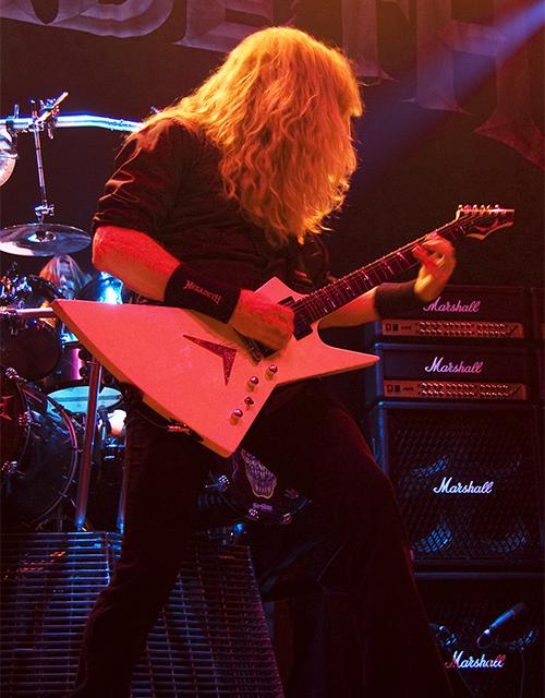 Dean Artist Dave Mustaine